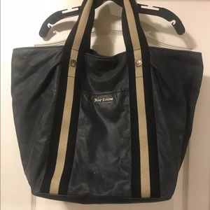 Juicy Couture suede leather bag